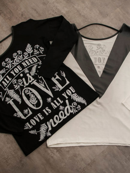 Camisa All You Need Is Love | Compre Agora na Anna Waff Collection