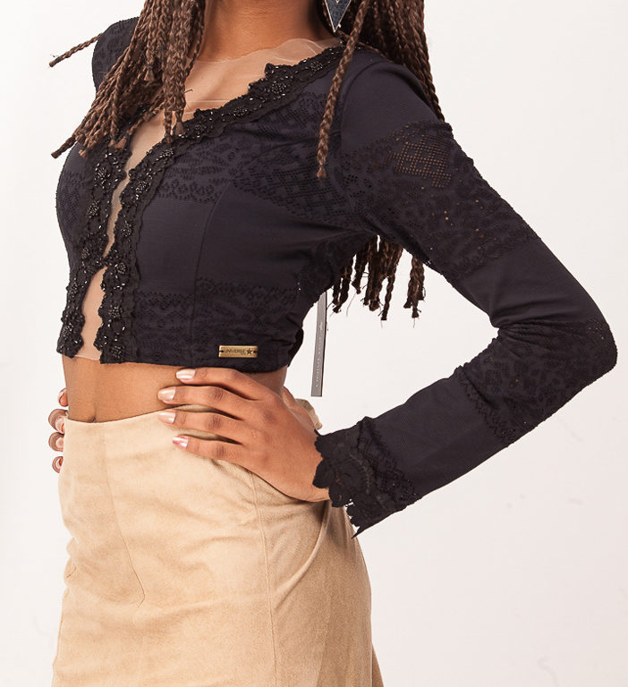 Cropped Night   Compre Agora na Anna Waff Collection